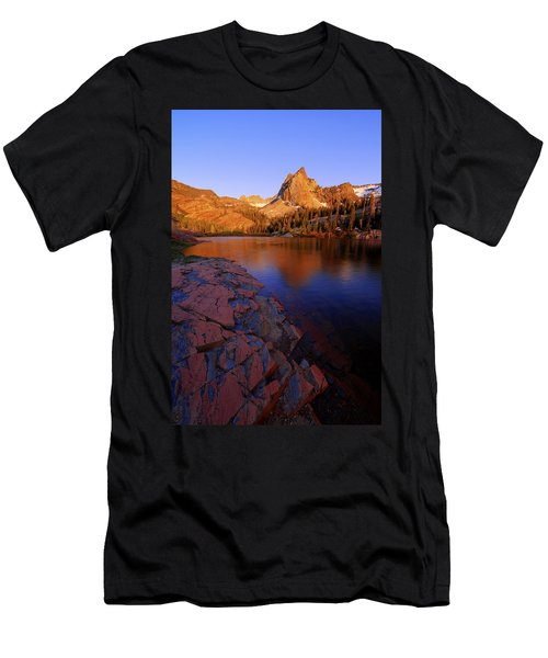 Once Upon A Rock Men's T-Shirt (Athletic Fit)