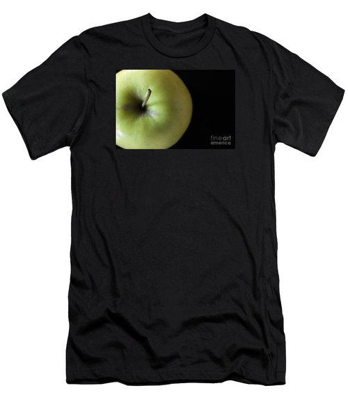 One Apple - Still Life Men's T-Shirt (Slim Fit) by Wendy Wilton