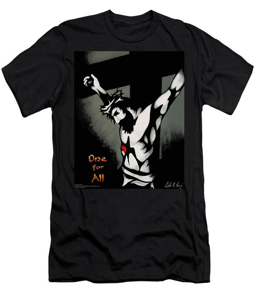 One For All Men's T-Shirt (Slim Fit) by Dale Loos Jr