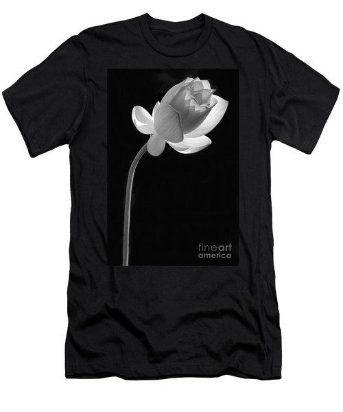 One Lotus Bud Men's T-Shirt (Athletic Fit)