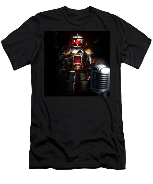 One Man Band Men's T-Shirt (Slim Fit) by Alessandro Della Pietra