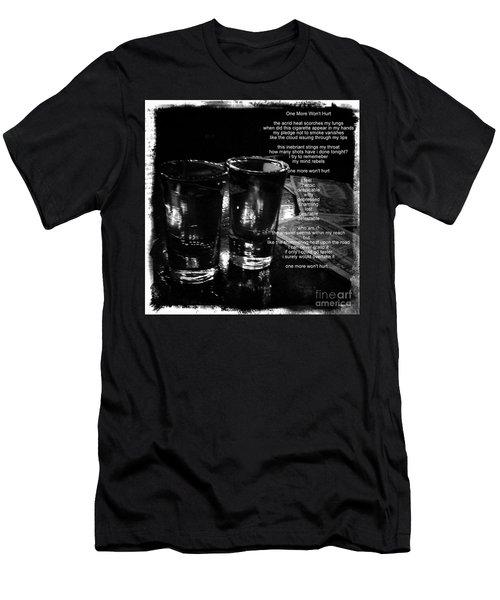 Men's T-Shirt (Slim Fit) featuring the photograph One More Won't Hurt by James Aiken