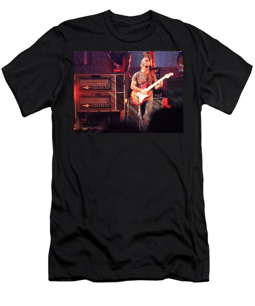 Men's T-Shirt (Slim Fit) featuring the photograph One Of The Greatest Guitar Player Ever by Aaron Martens