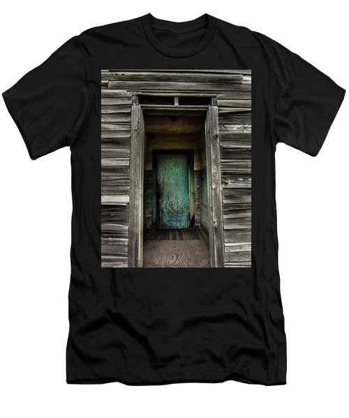 One Room Schoolhouse Door - Damascus - Pennsylvania Men's T-Shirt (Athletic Fit)