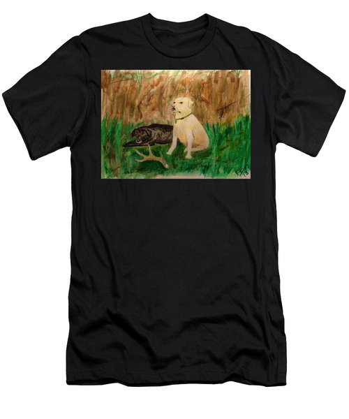 Onyx And Sarge Men's T-Shirt (Athletic Fit)