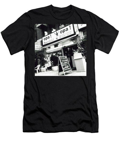 Men's T-Shirt (Slim Fit) featuring the photograph Opa Opa by James Aiken