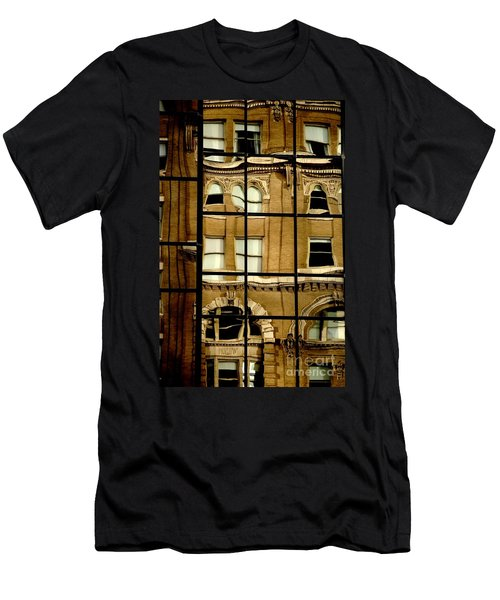 Men's T-Shirt (Athletic Fit) featuring the photograph Open Windows by Christiane Hellner-OBrien