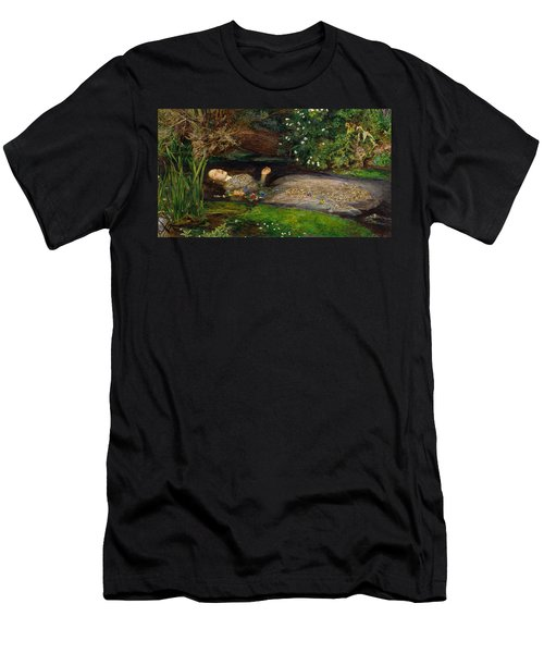 Ophelia  Men's T-Shirt (Slim Fit) by John Everett Millais