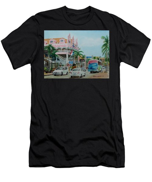 Oranjestad Aruba Men's T-Shirt (Athletic Fit)