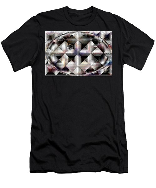 Orb Men's T-Shirt (Slim Fit) by Cynthia Lagoudakis