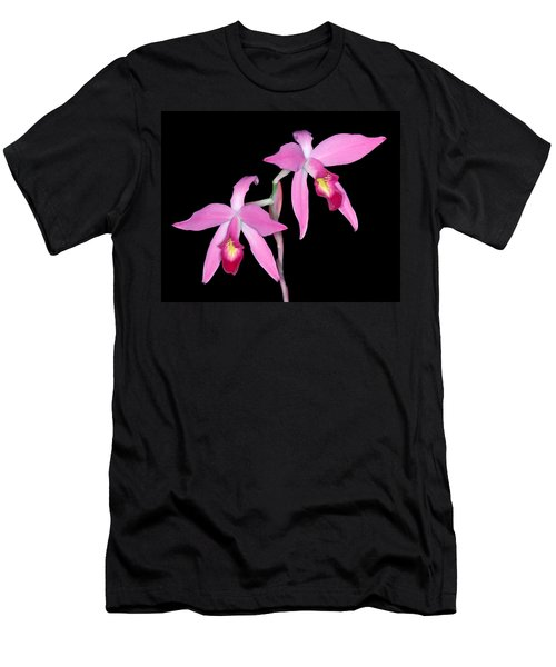 Orchid 1 Men's T-Shirt (Slim Fit) by Andy Shomock