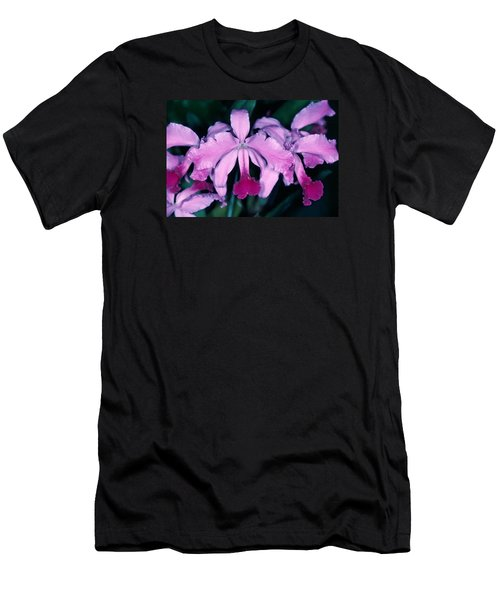 Orchid 6 Men's T-Shirt (Slim Fit) by Andy Shomock