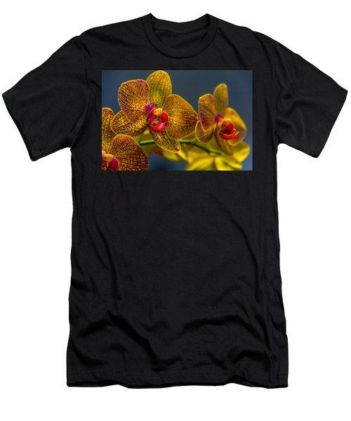 Orchid Color Men's T-Shirt (Athletic Fit)