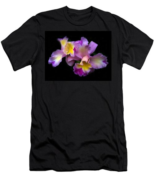 Orchid Embrace Men's T-Shirt (Athletic Fit)