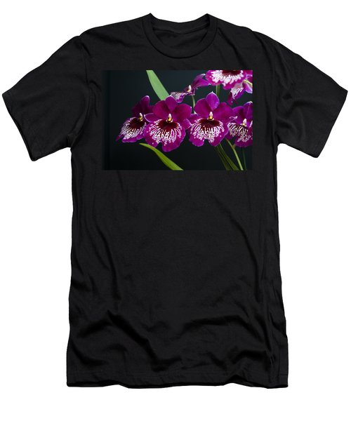 Men's T-Shirt (Slim Fit) featuring the photograph Orchid Miltonia by Lana Enderle
