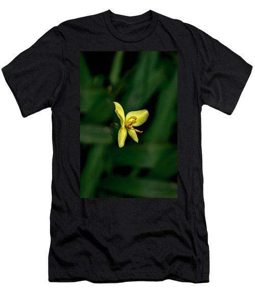 Orchid Suspense  Men's T-Shirt (Athletic Fit)