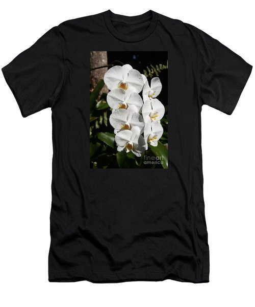 Orchids Anna Men's T-Shirt (Slim Fit) by The Art of Alice Terrill