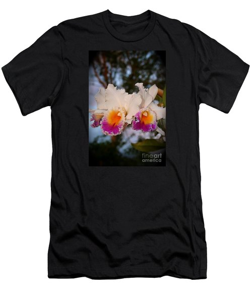 Orchid Elsie Sloan Men's T-Shirt (Slim Fit) by The Art of Alice Terrill