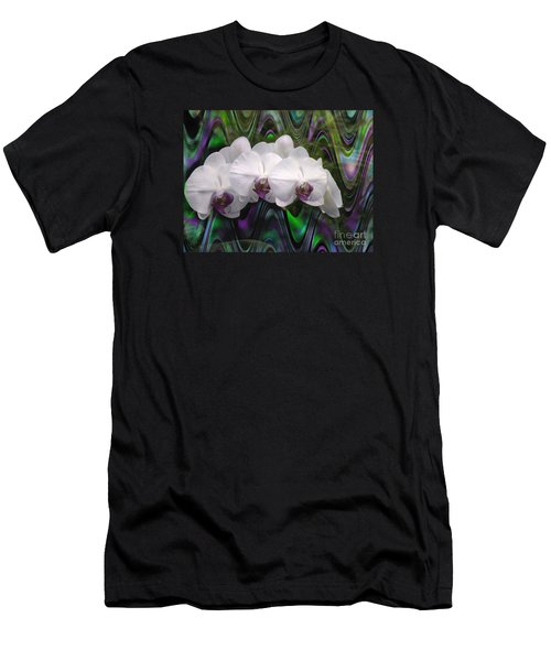 Men's T-Shirt (Slim Fit) featuring the photograph Balanchine Ballet by The Art of Alice Terrill