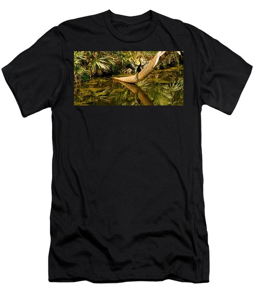 Oriental Darter Anhinga Melanogaster Men's T-Shirt (Athletic Fit)