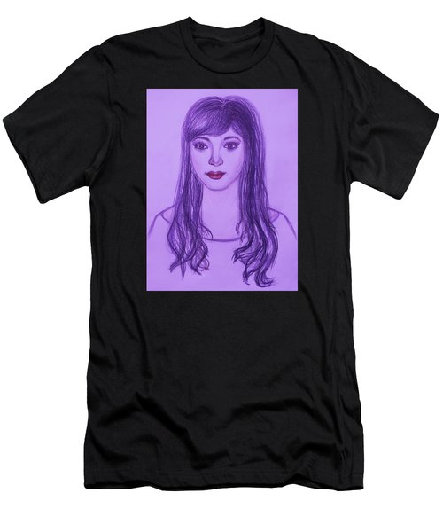 The Oriental Girl   Men's T-Shirt (Athletic Fit)