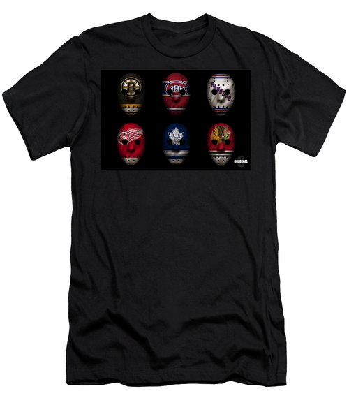 Original Six Jersey Mask Men's T-Shirt (Athletic Fit)