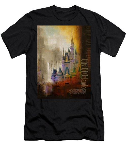 Orlando City Collage  Men's T-Shirt (Athletic Fit)