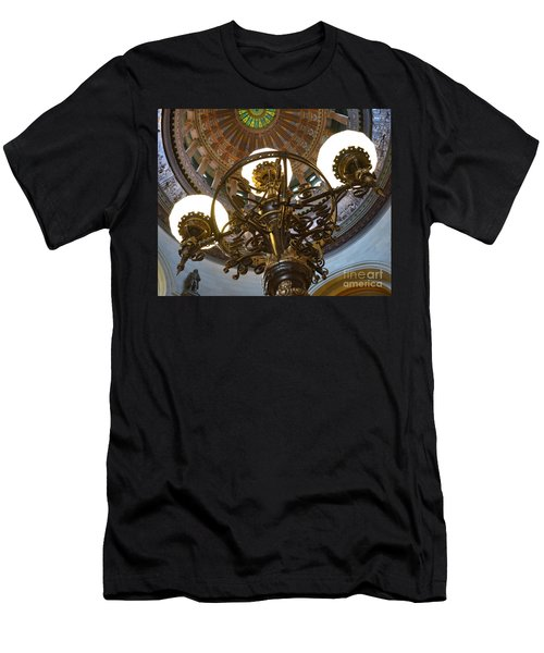 Ornate Lighting - Sprngfield Illinois Capitol Men's T-Shirt (Athletic Fit)