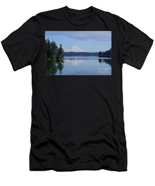 Oro Bay Reflection Men's T-Shirt (Athletic Fit)