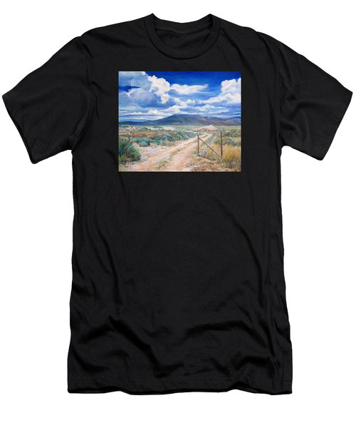 Osceola Nevada Ghost Town Men's T-Shirt (Athletic Fit)
