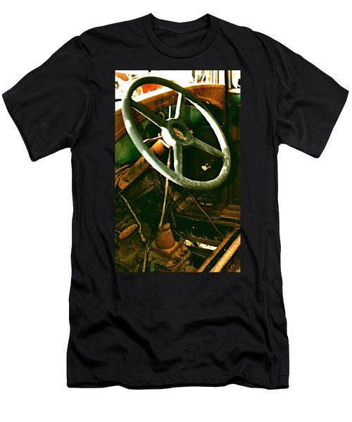 Men's T-Shirt (Slim Fit) featuring the photograph Our New Car by Don Wright
