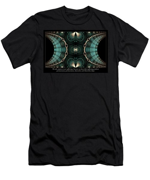 Our Sufferings Men's T-Shirt (Athletic Fit)