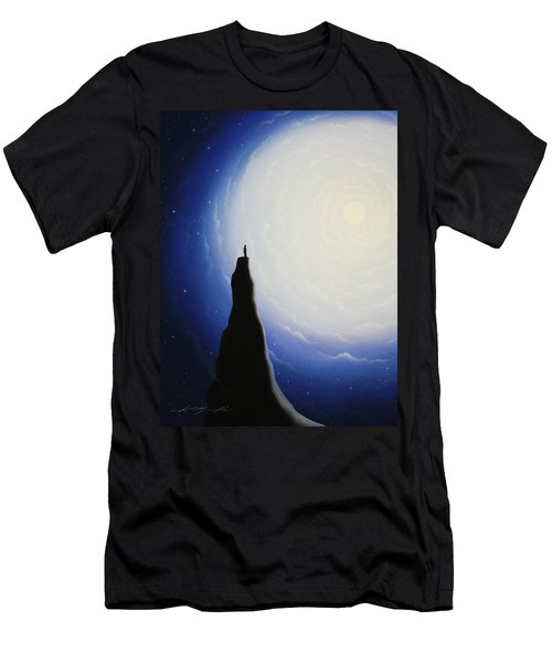 Somewhere Out In Space Men's T-Shirt (Athletic Fit)