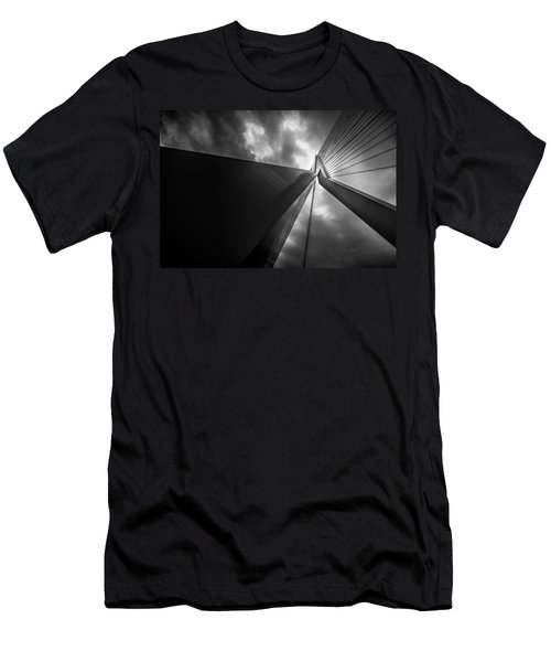 Men's T-Shirt (Slim Fit) featuring the photograph Out Of Chaos A New Order by Mihai Andritoiu