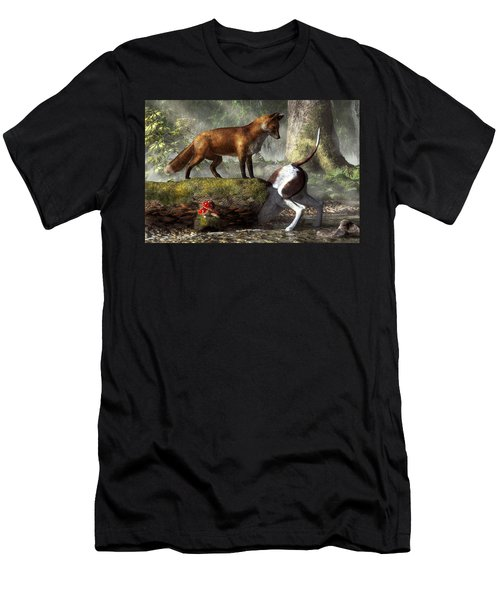 Outfoxed Men's T-Shirt (Athletic Fit)