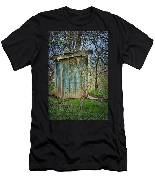 Outhouse In Spring Men's T-Shirt (Athletic Fit)