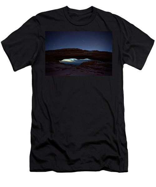 Men's T-Shirt (Slim Fit) featuring the photograph Over The Arch by David Andersen