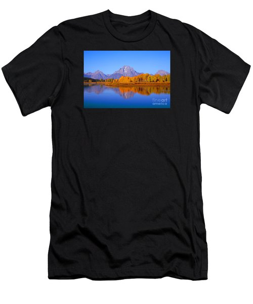 Oxbow Bend In Grand Teton Men's T-Shirt (Athletic Fit)