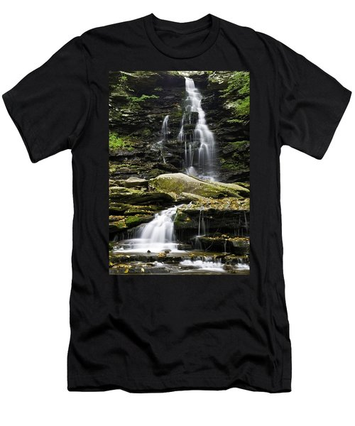 Ozone Falls Men's T-Shirt (Athletic Fit)