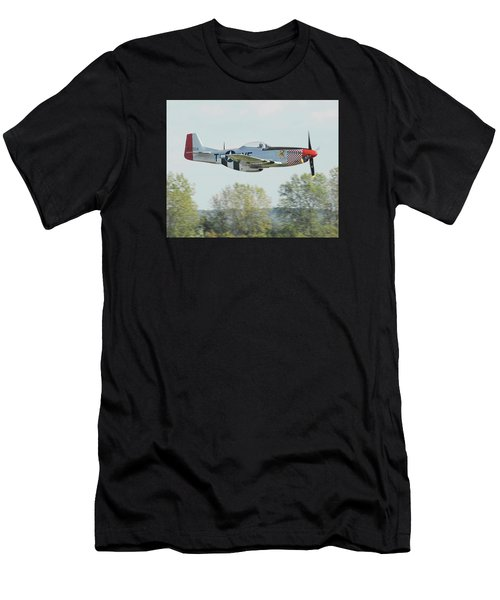 P-51d Mustang Shangrila Men's T-Shirt (Athletic Fit)