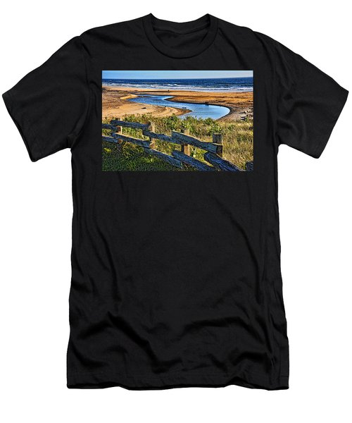 Pacific Coast - 4 Men's T-Shirt (Athletic Fit)