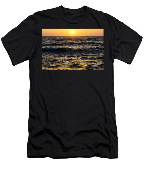 Pacific Reflection Men's T-Shirt (Slim Fit) by CML Brown