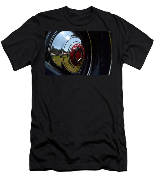 Men's T-Shirt (Slim Fit) featuring the photograph Packard - 2 by Dean Ferreira