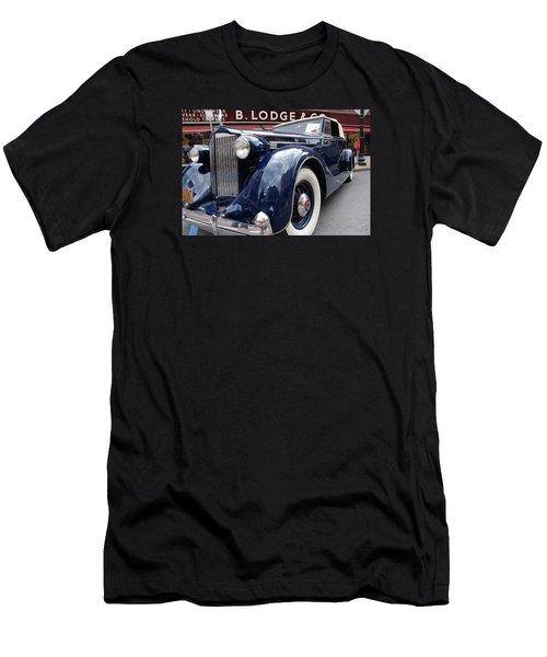 Men's T-Shirt (Slim Fit) featuring the photograph Packard 1207 Convertible 1935 by John Schneider