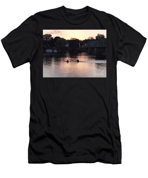 Paddling For Home Men's T-Shirt (Athletic Fit)