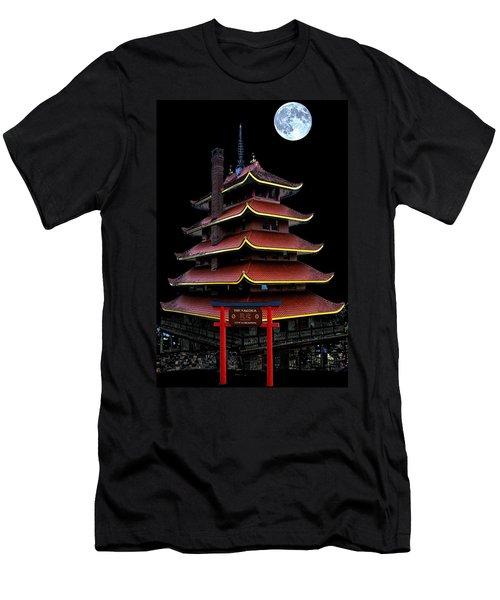 Pagoda Men's T-Shirt (Athletic Fit)