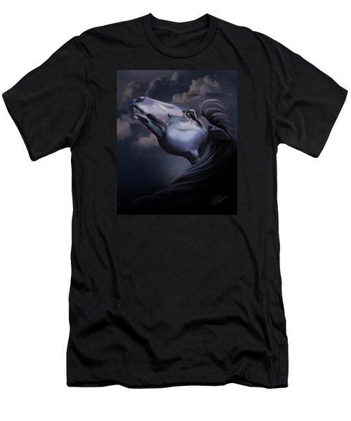 Pain Inside Me Men's T-Shirt (Slim Fit) by Kate Black