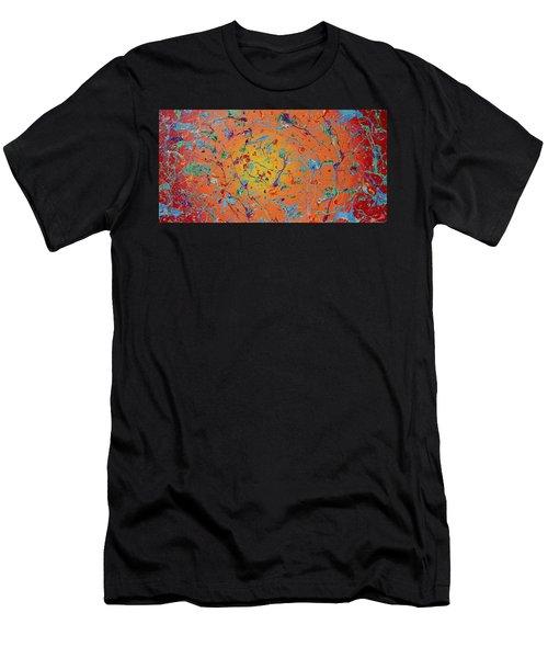 Paint Number Thirty Seven Men's T-Shirt (Athletic Fit)