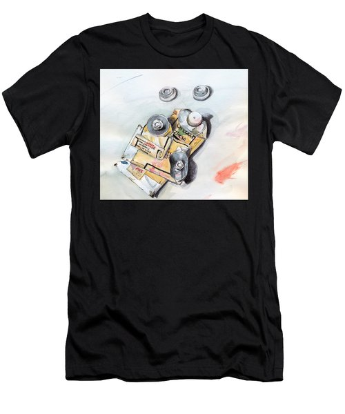 Paint Tubes Men's T-Shirt (Athletic Fit)