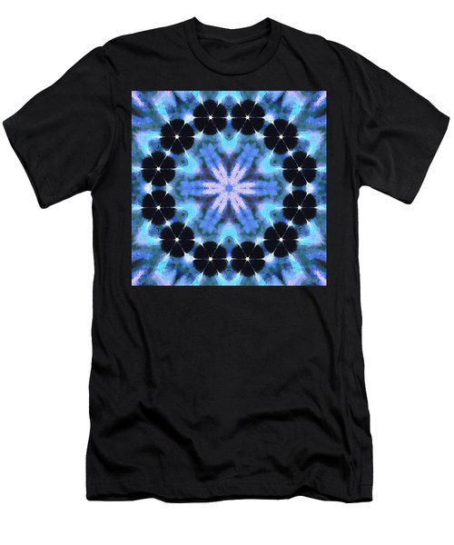 Painted Cymatics 108.00hz Men's T-Shirt (Athletic Fit)